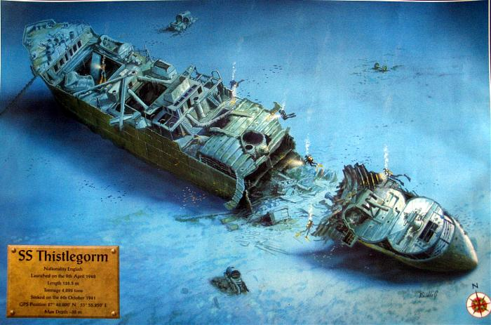 SS Thistlegorm and let's get wrecked
