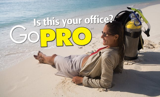 Is this your office? PADI GO PRO
