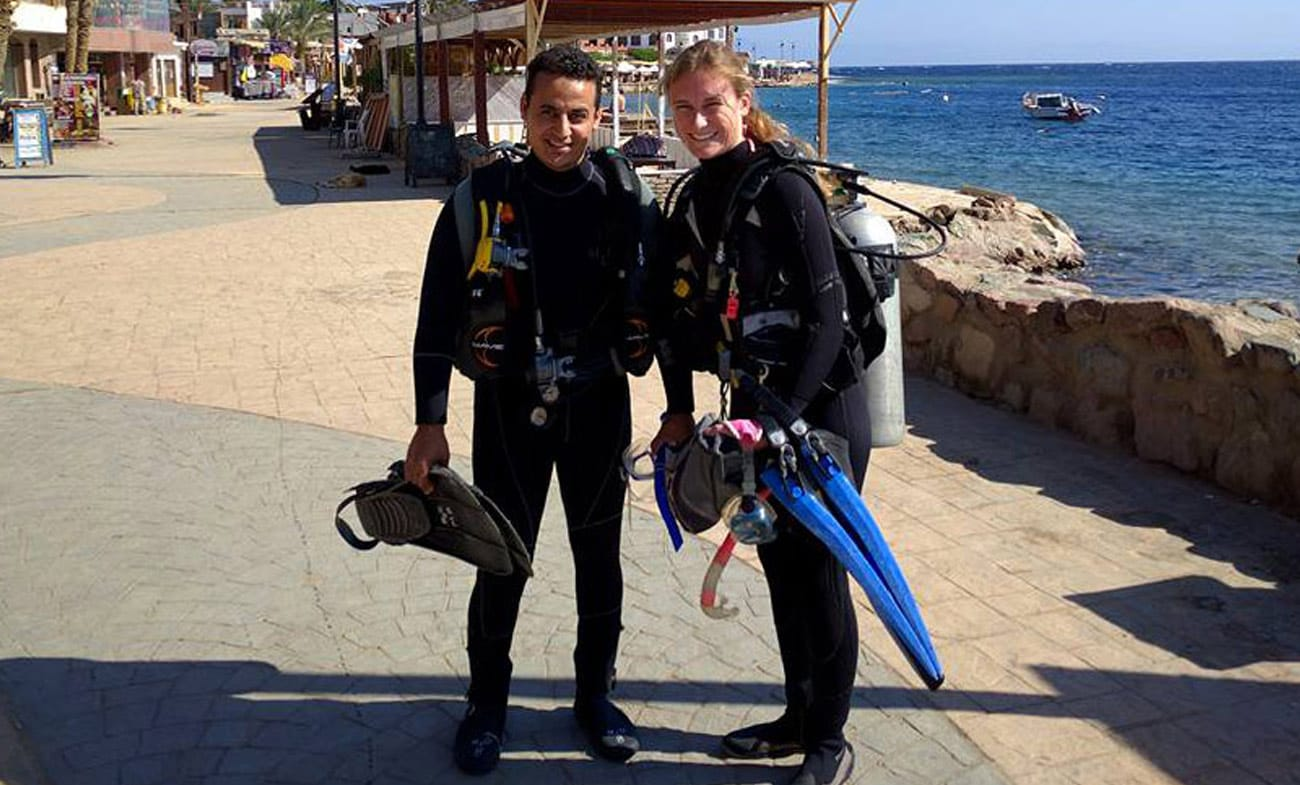 Ibrahim's PADI Open Water course