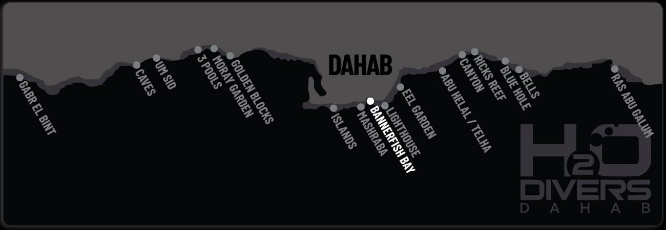 Dahab Dive Sites - Bannerfish Bay