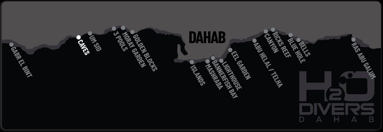 Dahab Dive Sites - Caves