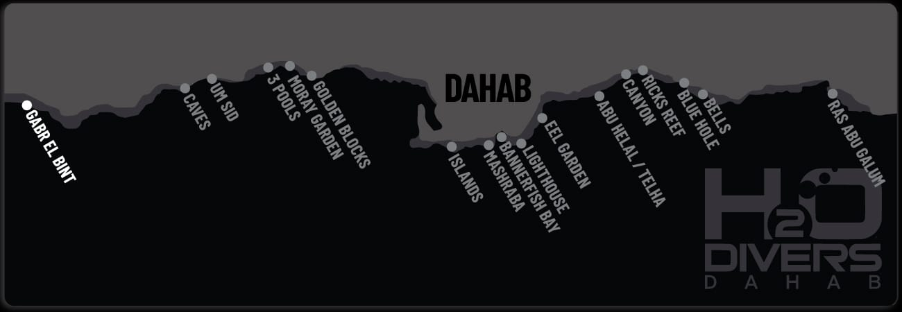 Dahab Dive Sites - Gabr el Bint