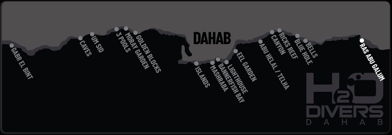 Dahab Dive Sites - Ras Abu Calum