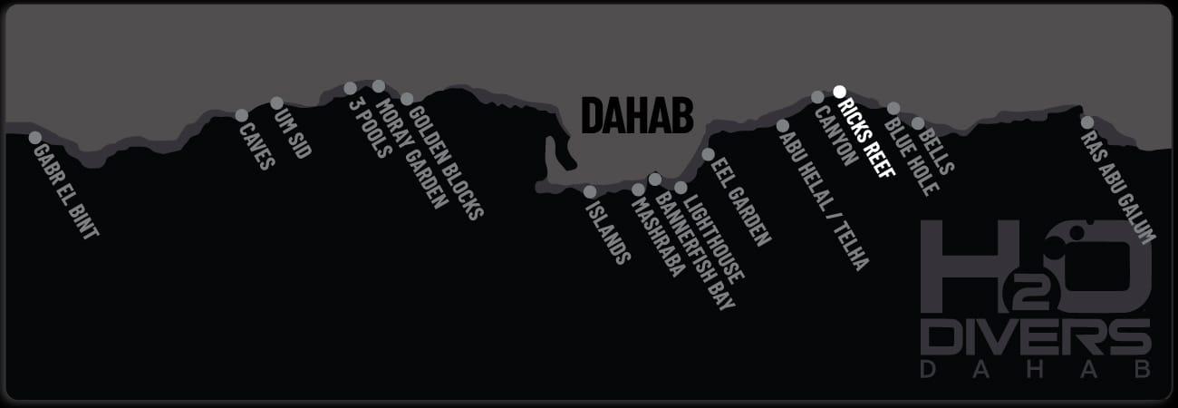 Dahab Dive Sites - Ricks Reef