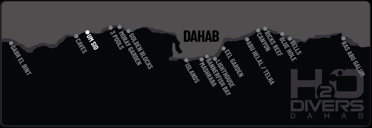 Dahab Dive Sites - Um Sid