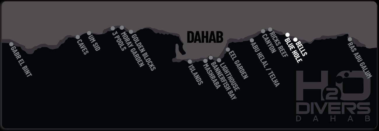 Dahab-Dive-Sites- Bells and Blue Hole