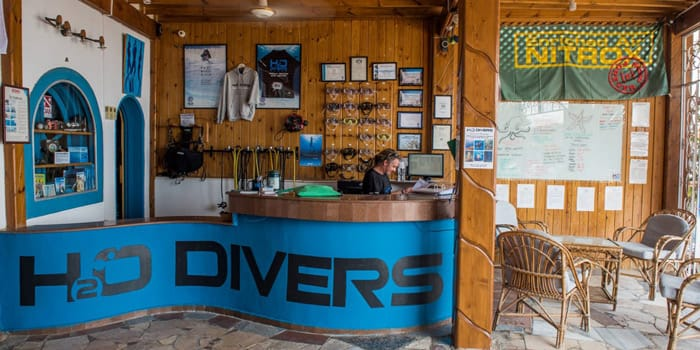 Dom at H2O Divers Dahab