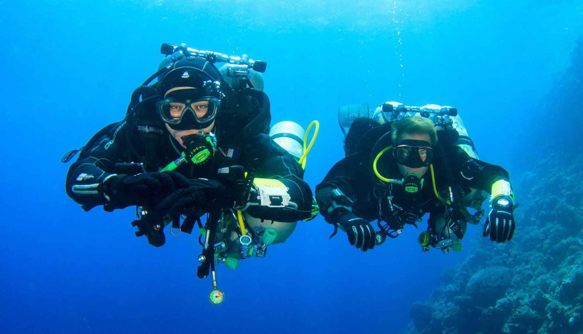 Tech diving in Dahab with H2O