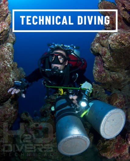 Technical Diving in Dahab with H2O